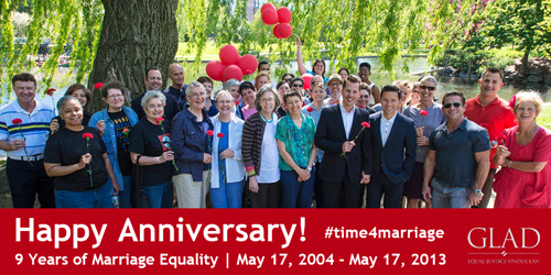 9 Years of Marriage Equality