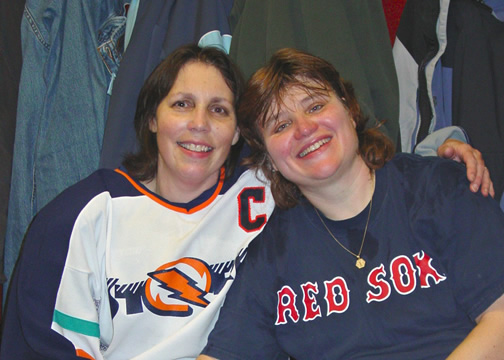 Photograph of Judy Paiva & Sandy Ansell
