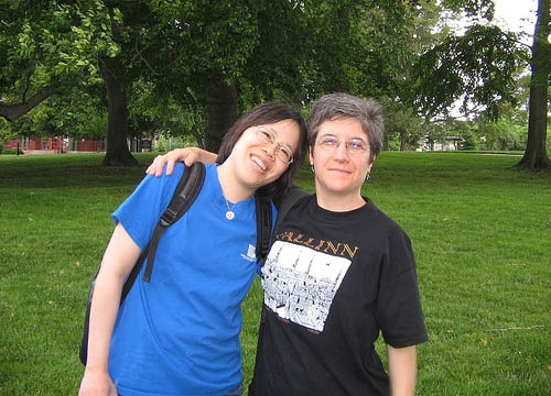 Photograph of Ailsa Wu & Kate Herman